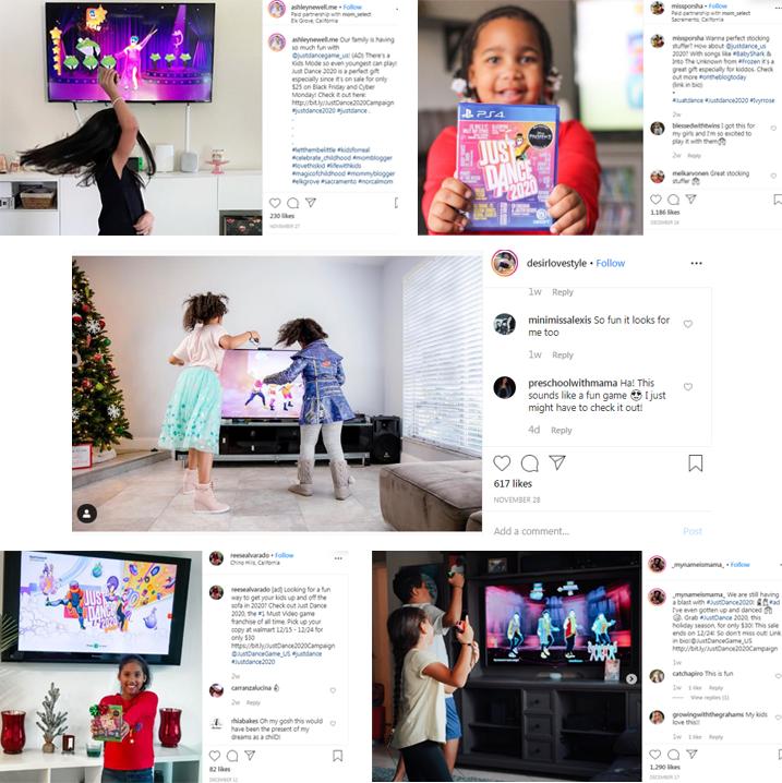 Just Dance Social Media Posts